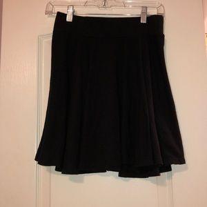 Black skater skirt from Urban Outfitters